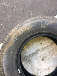 Two Lite Truck Ironman Tires