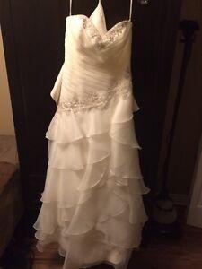 Wedding Dress For Sale Size 12-14 Corset Back
