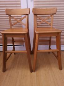 Ikea children's chairs x 2