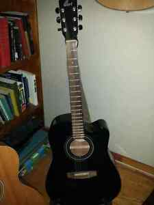 Black Cort Guitar