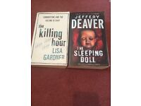 2 adult Horror/Mystery books