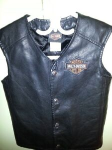 AUTHENTIC HARLEY-DAVIDSON VEST FOR THE LITTLE GUY