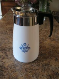 Vintage Corningware Coffee Pot