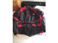 Akito motorcycle jacket, size XL.