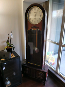Custom made grandfather clock