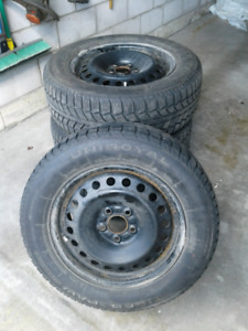 SNOW TIRES, SET OF 4