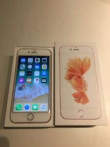Apple iPhone 6S Rose Gold 128GB UNLOCKED/DÉVERROUILLÉ NEGOCIABLE