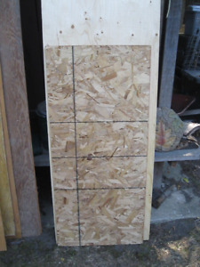 """One Part Sheet 3/8"""" Plywood"""