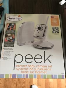 Summer internet baby monitor Camera system