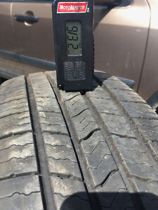 4 All Season tires on rims Michelin Defender 205/70/R15