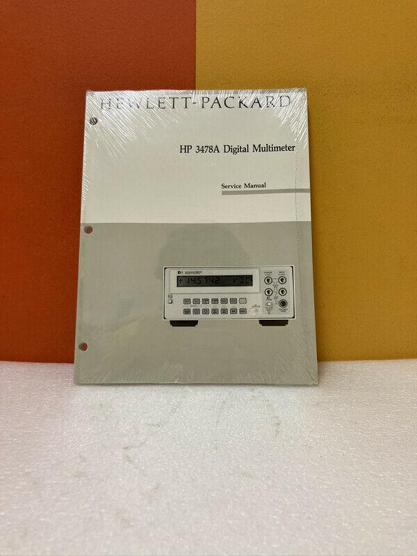HP 03478-90008 3478A Digital Multimeter Service Manual
