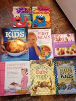 Lot of 8 recipe books only $5!