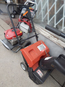 snow blowers and other misc yard tools at the 689r tool store