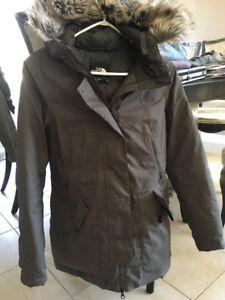 Manteau d'hiver the north face pour femmes grandeur small