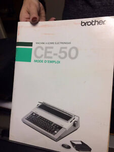 brother correctronic 50 machine a ecrire electronic
