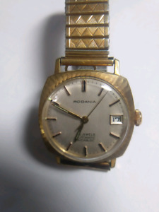 RODANIA 25 JEWELS WRISTWATCH