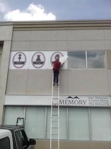 signs truck wraps & lettering plastic & pylon signs windows etc. Cambridge Kitchener Area image 6