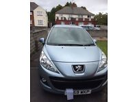 Peugeot 207 verve. Full service history. Only 34000 miles on clock!