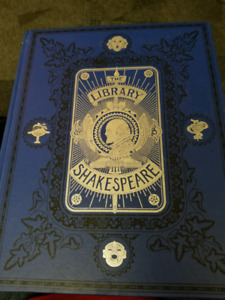 The Illustrated Shakespeare library book.
