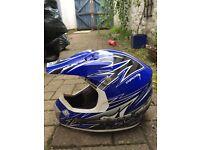 Shot Motocross Helmet