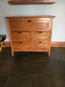 commode style asiatique / Asian style desser