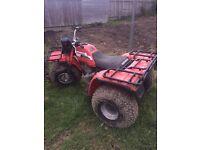 Rare 1987 Honda Big red 250es ATC