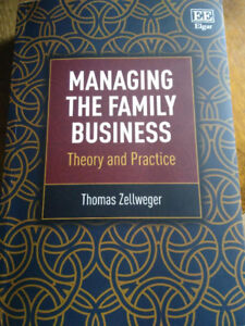 Textbook : Managing the family business - Thomas Zellweger