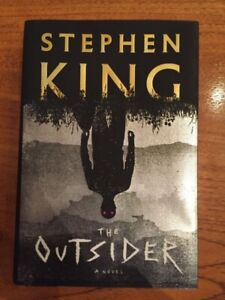 The Outsider hard cover first edition by Stephen King