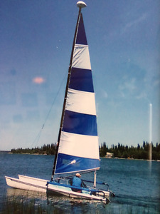 Hobie 17 sailboat