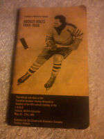 1965 OFFICIAL HOCKEY RULE BOOK