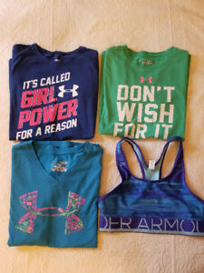 Girls Under Armour Lot