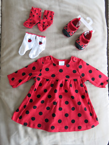 Gymboree Dress and Matching Shoes