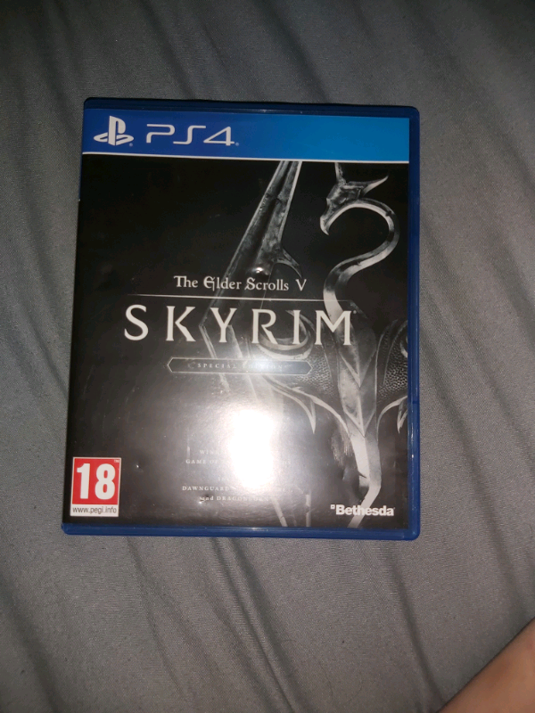 Skyrim: Limited edition PS4 | in Levenshulme, Manchester | Gumtree