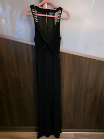Armani exchange, maxi black dress