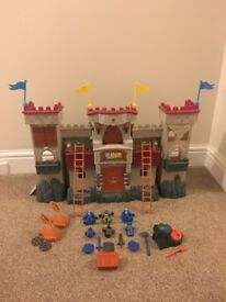 Imaginext light and sound castle