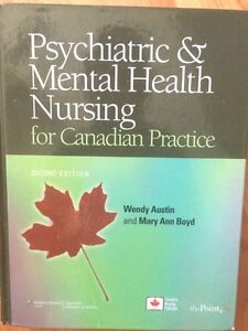 Psychiatric and mental health nursing for Canadian practice Cornwall Ontario image 1