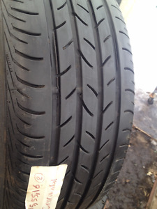 2 Continental Summer tires 215/55/16