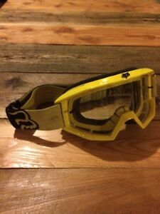 Lunette mx fox / equipement motocross