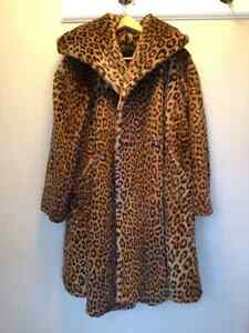 Leopard coat - Made in Italy