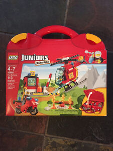 LEGO Junior Brand NEW set Fire Suitcase