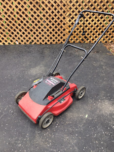 Black  Decker Electric Lawn Mower - Mulch and Mow