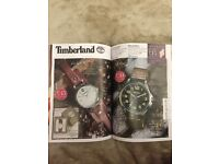His and hers timberland watches