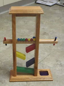 Wooden marble drop toy - Newmarket area