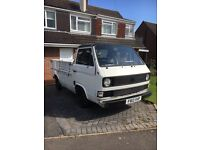 Rare VW T25 / T3 pick up 1.9 L petrol 12 MTHS MOT