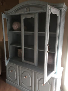 Re-finished wooden cabinet