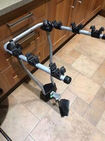 Thule 3 bike tow bar mounted bike rack