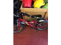 Giant mountain Bike for 5-7 year old boy