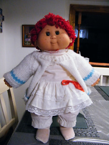 RED HAIRED 20'' CABBAGE PATCH KIDS LOOK ALIKE DOLL