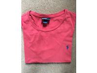 5 Mens designer t shirts including Ralph Lauren and Juicy
