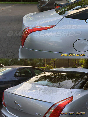 ALL COLOR PAINTED FOR 11 15 JAGUAR XJ X351 SEDAN K STYLE REAR TRUNK LIP SPOILER